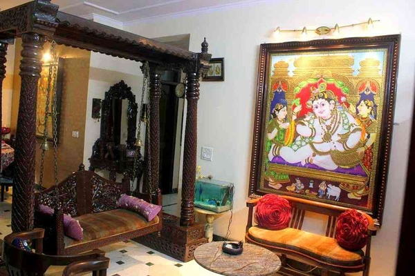 Traditional Gujarati Style Interior Designing, Decoration ...