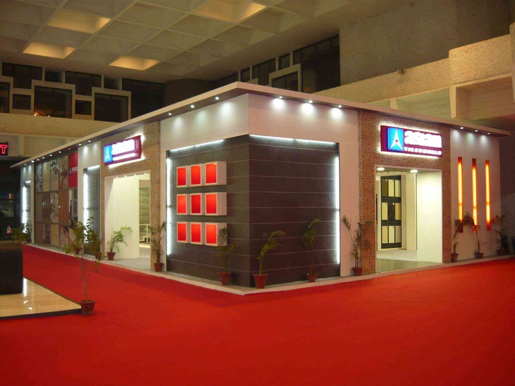 Exhibition Stall Hire : Exhibition stall by adhunik advertising pvt ltd interior