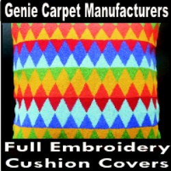 Full Embroidery Cushion Covers