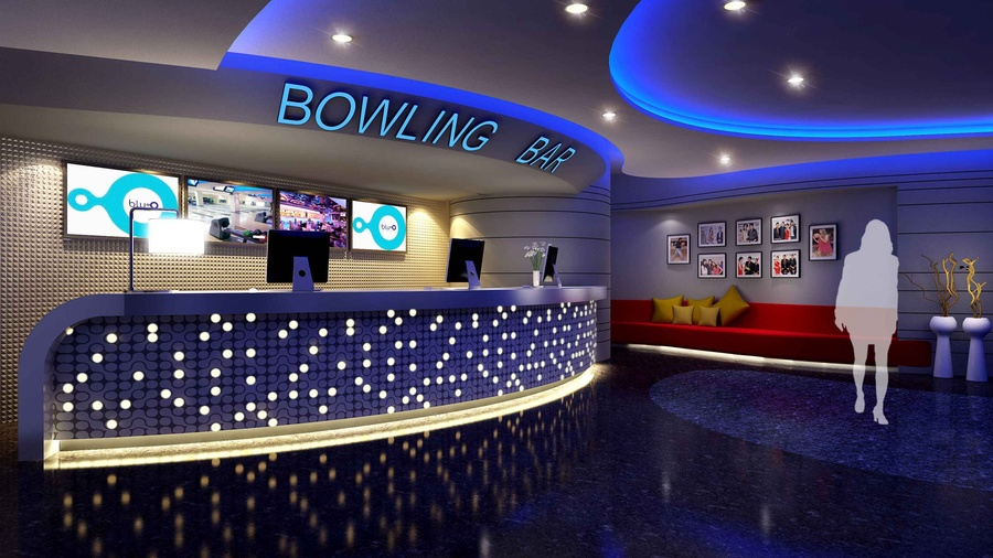Bluo Bowling Alley Bengaluru By Nostri Architects