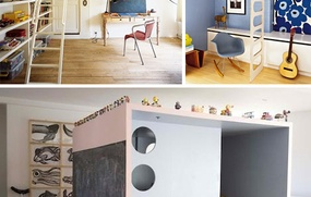 Not just 4 kids ..7 Space-Saving (& Adult-Sized) Loft Beds