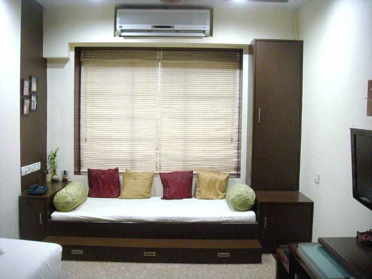 1 bhk cheap decorating ideas 1 bhk room design low space for Simple and sober bedroom designs