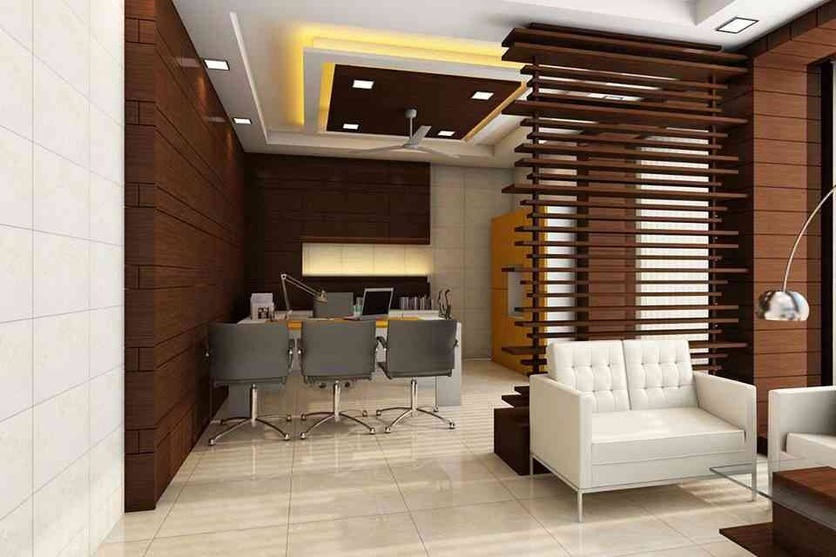 Office at shillong by nikhil pasari architect in guwahati assam india - Office cabin design ideas ...
