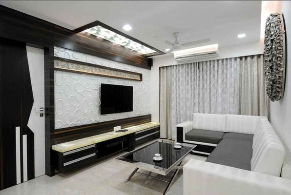 Art deco interior design tips decorating ideas furniture for 1 bhk living room interior