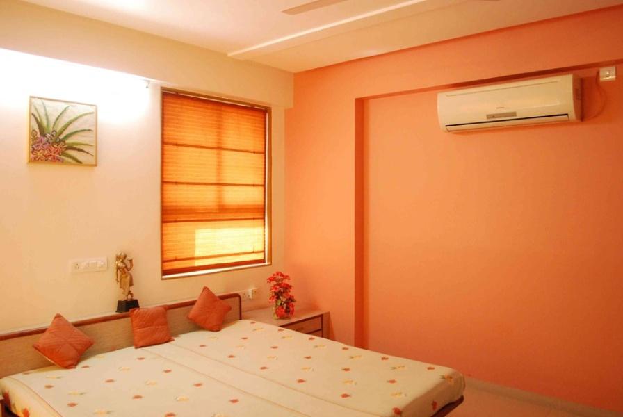 orange color scheme for living room  bedroom  orange color interior design