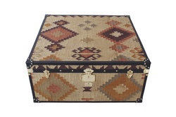 Hand-crafted Kilim Coffee Table