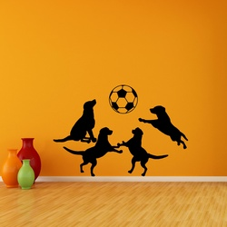 Playful Dogs Wall Decal ( KC316 )