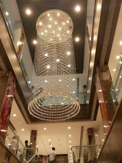 chandeliers light for staircase