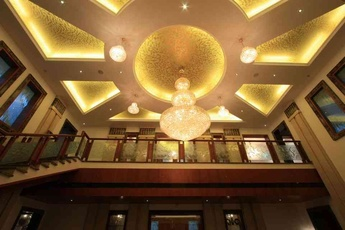 Ceiling Light Decor Idea by Ar. Dameem Ansari M