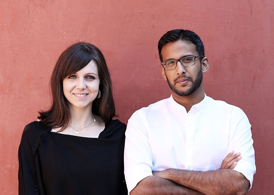 Architects Eliza Higgins and Cyrus Patell