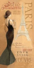 Ladies of Paris I Poster