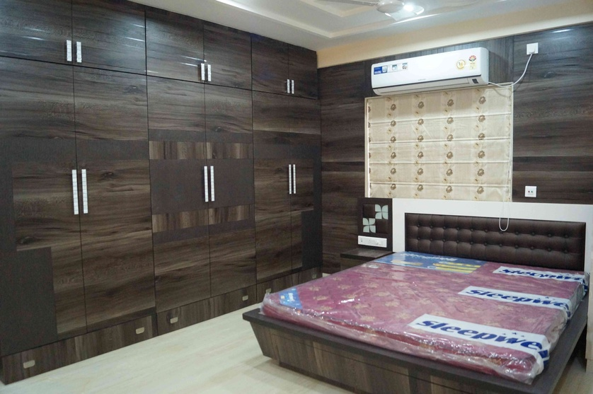 Bedroom wardrobe designs india bangalore bedroom wardrobe design ideas - Niche Interiors By Arpita Doshi Interior Designer In