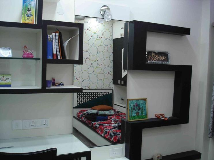 Apartment by arpita doshi interior designer in kolkata for Children bedroom designs india