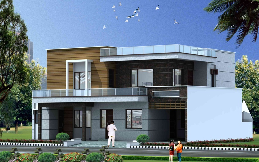 Architectural Design Of Bungalow By Studio Navkriti Architect In
