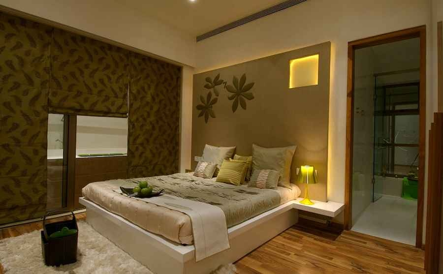 rna grand 3bhk by Shahen Mistry Interior Designer in Mumbai. Master bedroom ideas in india