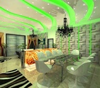 Living / dining mood lighting option