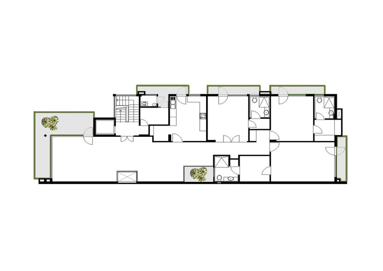 Plan Elevation Of A Cuboid : Cuboid house by amit khanna architect in delhi india