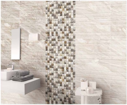 Varmora digital wall tiles latest bathroom d cor trends ideas Kajaria bathroom tiles design in india