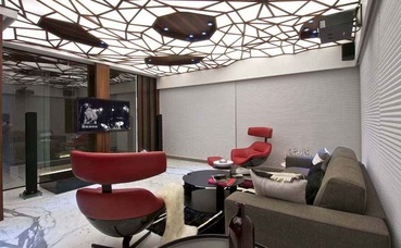 Meshed Ceiling Design
