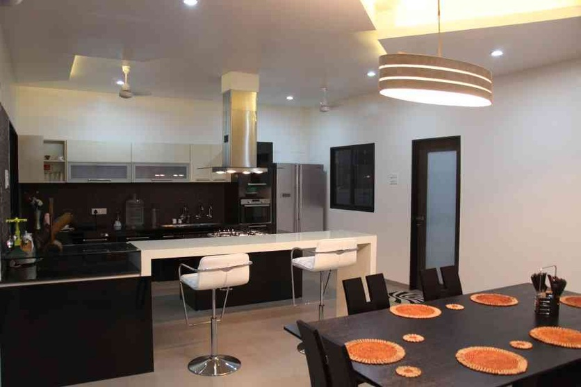 Jahagirdar house by 4th axis design studio architect in for Indian style open kitchen design