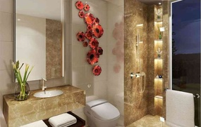 Interior Design of Bathroom