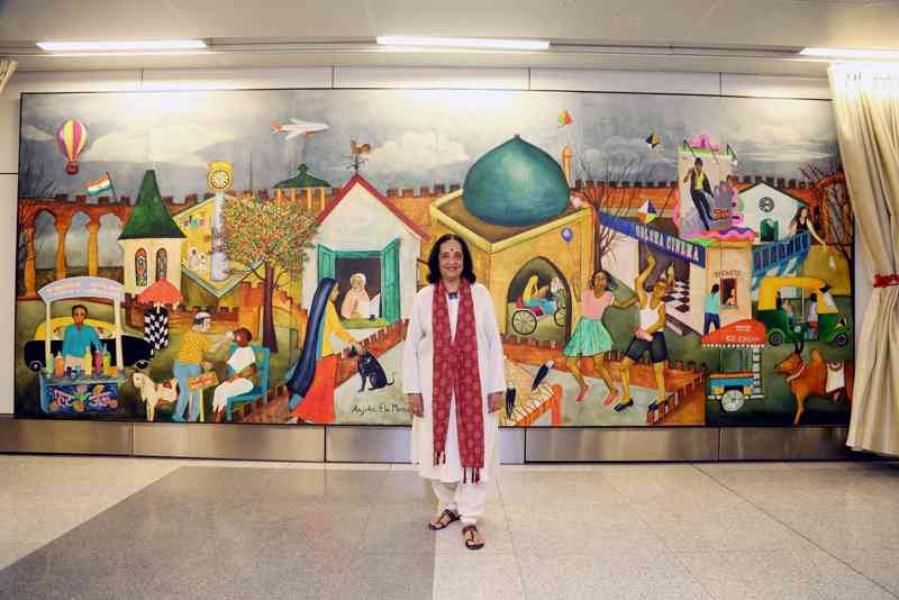 Anjolie Ela Menon Eminent Indian Artist Interview
