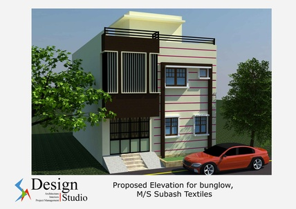 Proposed Elevation Design for the Bungalow