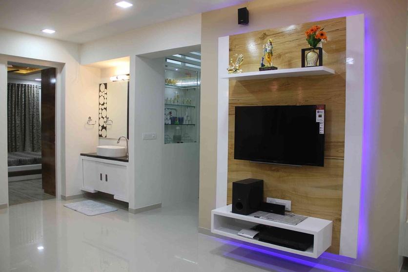 Interior flat by sanket rudani interior designer in for Best interior designs for flats