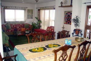 Traditional Living Cum Dining Area