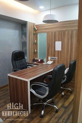 Chairman Office Cabin Design HighTieds Interior Design Ahmedabad