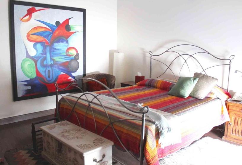 Guest bedroom by ananda design studio interior designer for Bedroom designs delhi