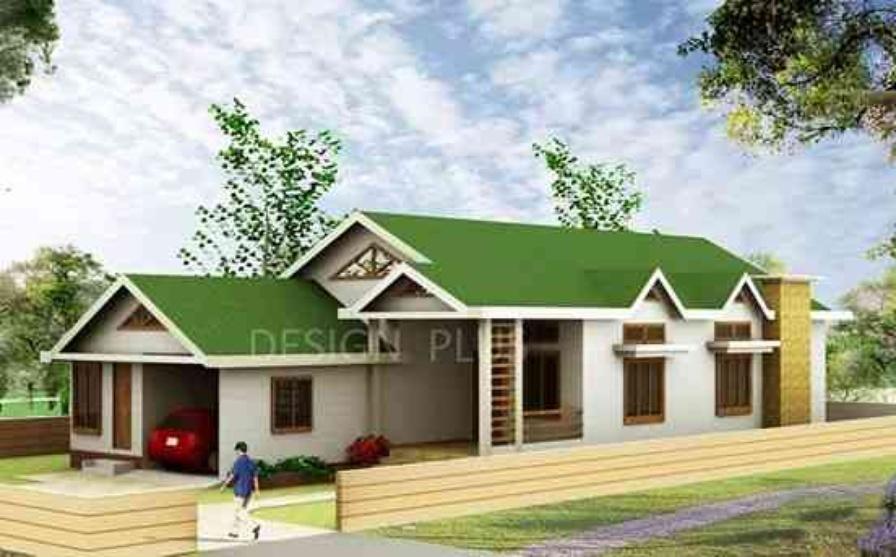 Bungalow Assam Type By ArRajneesh Dutta Architect In Jorhat - Assam type house cost