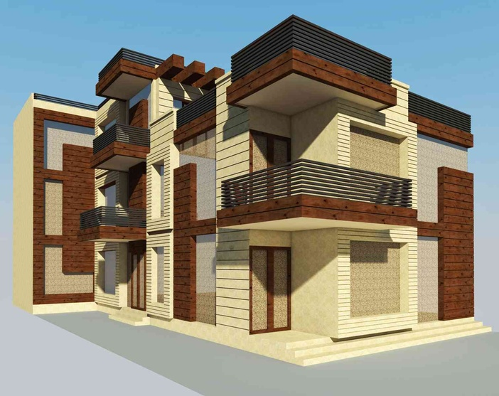 Residence at sector 50 noida by artech design for Architecture design for home in noida
