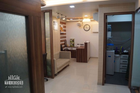 Office Passage Design Pantry Design HighTieds Interior Design Ahmedabad