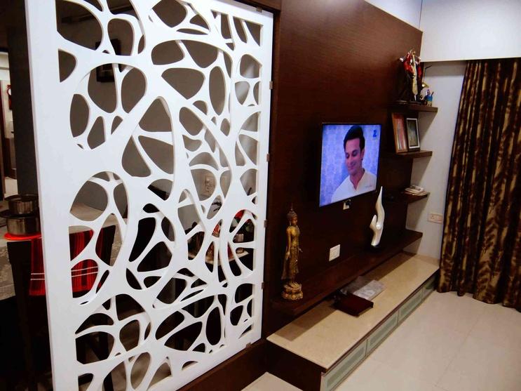 Living Room Divider Design Ideas, Hall Divider, Partition ...