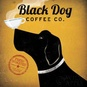 Black Dog Coffee Co Poster