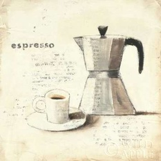 Parisian Coffee II Poster