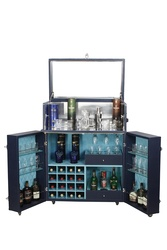 Bar Furniture – Hand-crafted, Leather Chest Bar