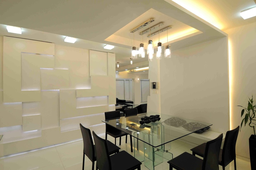 Vile parle east by sonali shah interior designer in for Dining area interior design