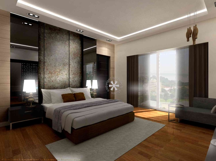 Penthouse 1 by architects 39 studio architect in new delhi for Bedroom designs delhi
