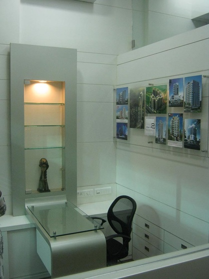Small office interiors by anupa jangbari interior for Office cabin design