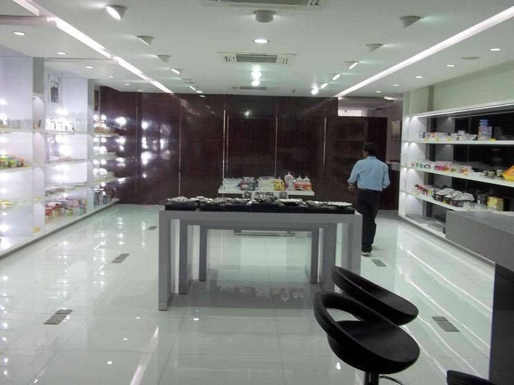 roxx showroom by ar abhinav jain architect in delhi