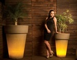 Illuminated Planter Elena 90