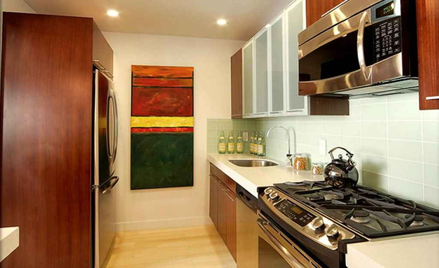Kitchen 3 by deepa raj interior designer in mumbai for Nyc apartment kitchen ideas