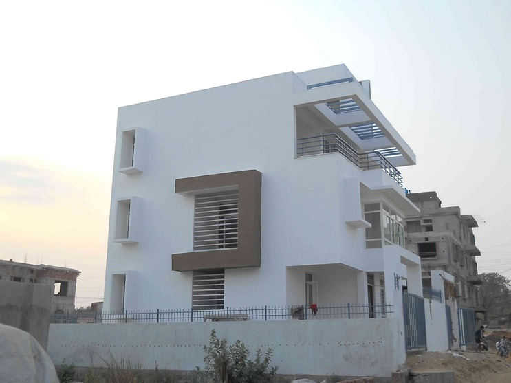 Garden residence bhubaneswar odisha by chinmay mohanta for Architecture design for home in odisha