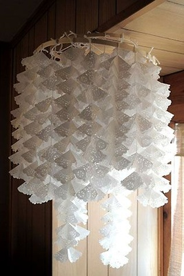 Decor Ideas with Paper, Image source: the-wedding.ru