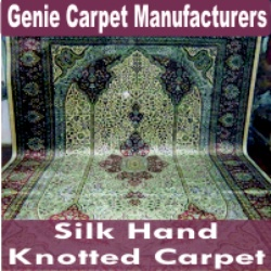 Silk Hand Knotted Carpet