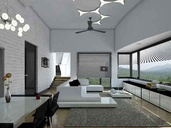 Modern Living Room Interior Decor