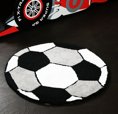 Football Rugs for Kids' Rooms