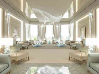 Luxury Living Room Design in Unspeakable Charm